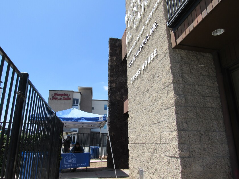 Crisis House is nearing the end of its $1 per year lease with the city of El Cajon for the building it uses.