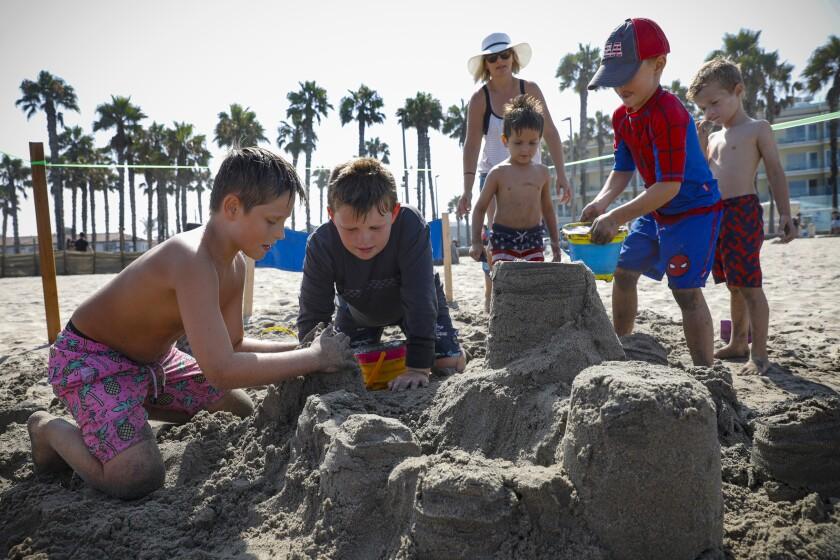 The Kids-N-Kastles event in Imperial Beach.
