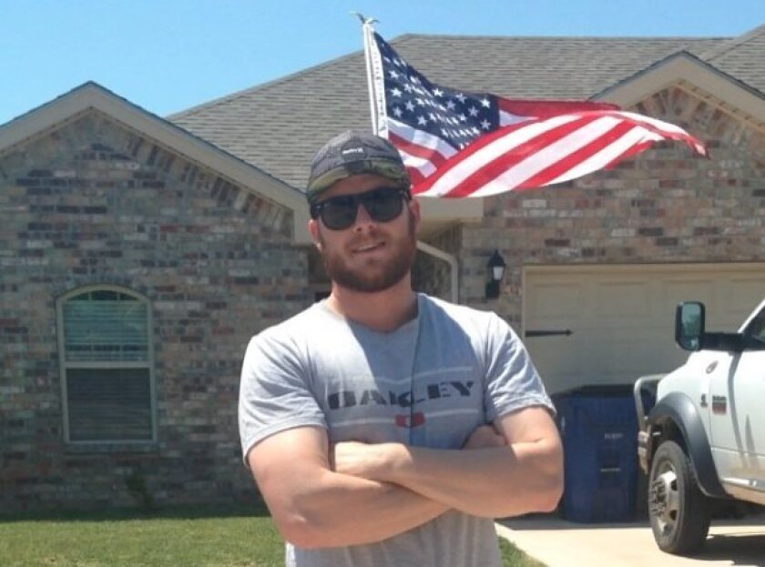 """Bryce Wagoner's challenge for America? """"Show that you're proud to be an American."""""""