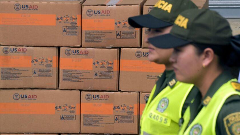 COLOMBIA-VENEZUELA-US-CRISIS-AID