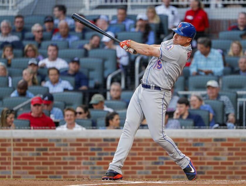En la imagen, el jugador Jay Bruce de los Mets de Nueva York. EFE/Archivo