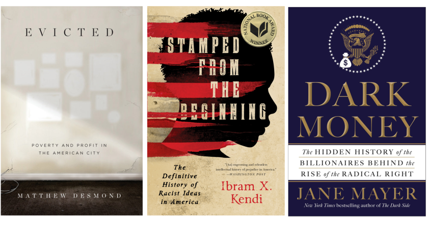 Three of the five finalists for the National Book Critics Circle Awards