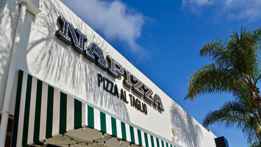 Napizza opened in mid-May at 615 S. Coast Highway 101 in Encinitas. (Maria Wiles)