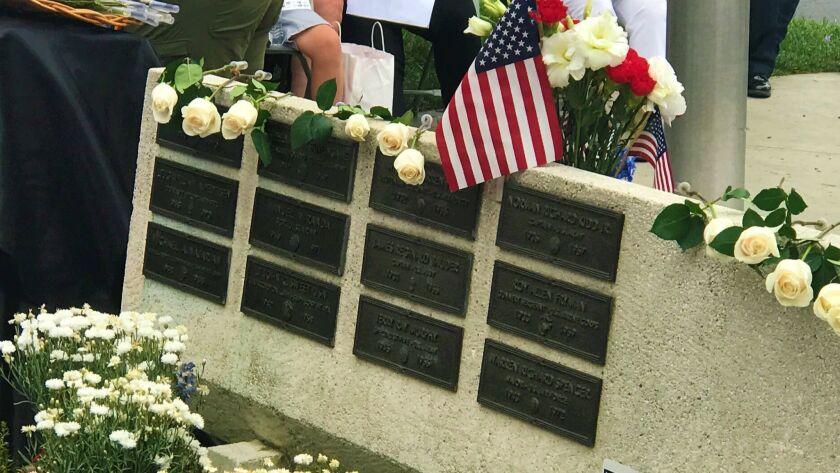 Montrose celebrates 50th anniversary of Vietnam War Memorial