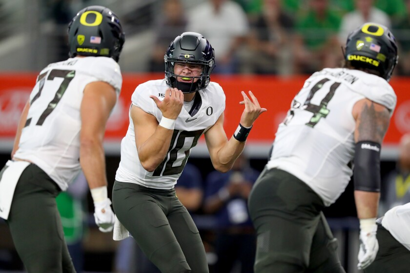 Chargers GM Tom Telesco says he would have taken Tua Tagovailoa with the No. 6 pick if Justin Herbert (above) was off the board.