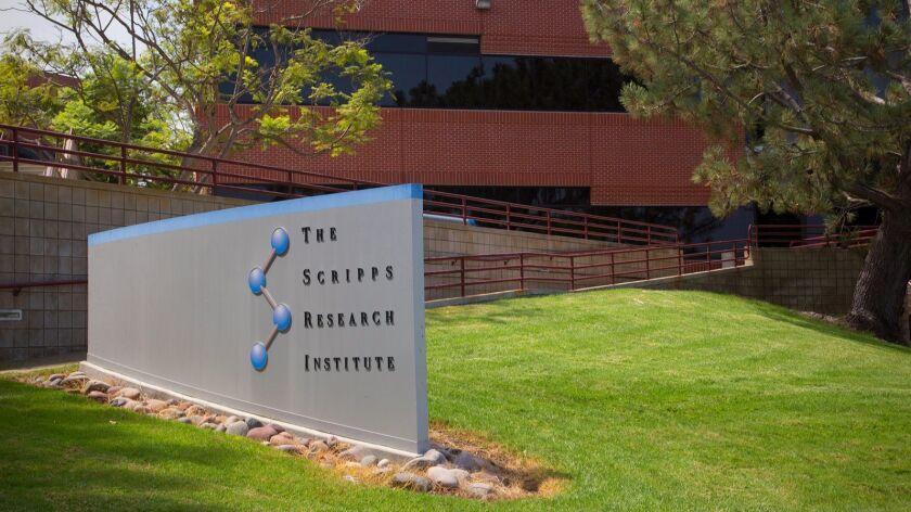 Scripps Research Institute in Torrey Pines.