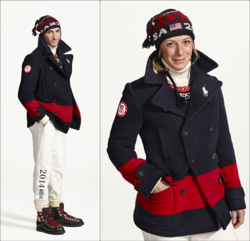 2014 Team USA Olympic uniforms by Ralph Lauren
