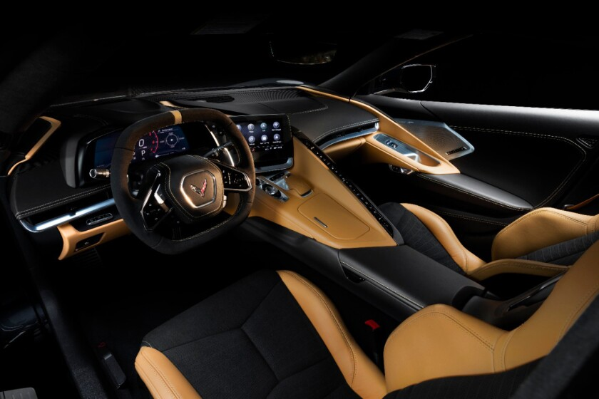 There will be six interior color themes with two leather-upholstery stitching packages and six seat-belt colors.