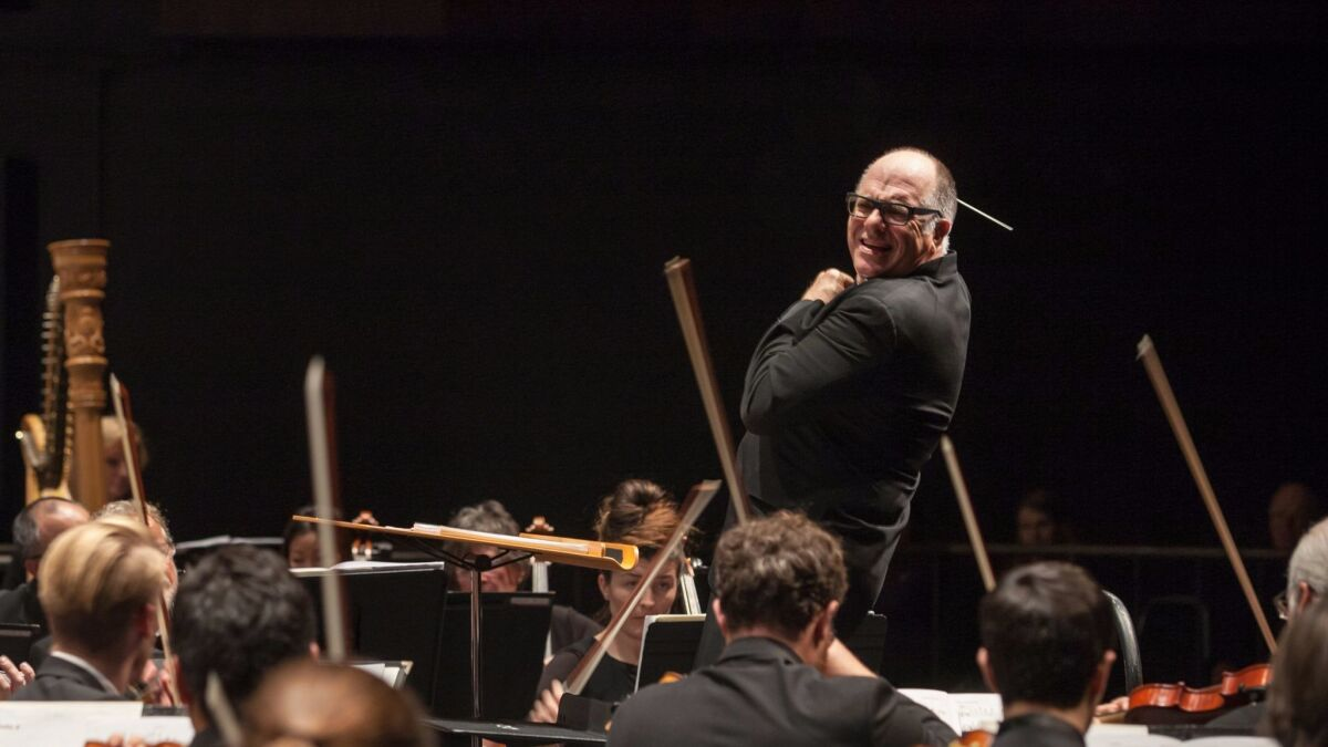 Review: Too much music? La Jolla Symphony dazzles — and