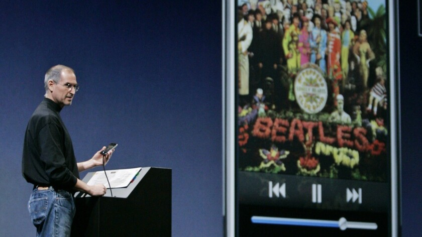 Steve Jobs, Beatles