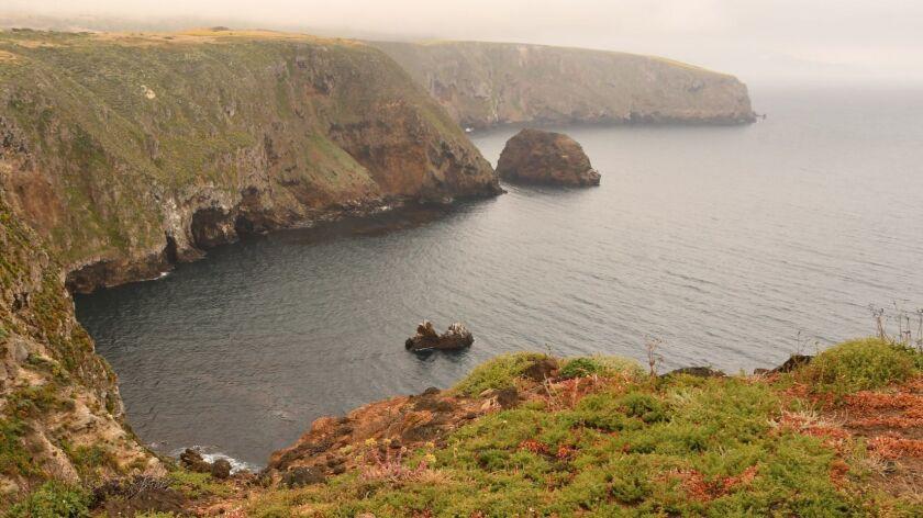 Santa Cruz Island, Channel Islands National Park. Near Cavern Point.