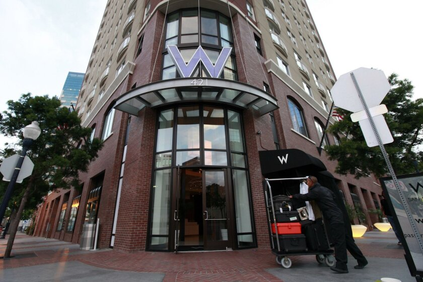 The former W Hotel, which opened in late 2002 in downtown San Diego, is now a Marriott-branded Renaissance.