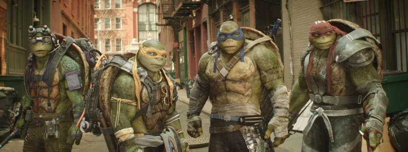 """Viacom's fiscal third-quarter earnings were marred by a weak performance of Paramount's summer movie """"Teenage Mutant Ninja Turtles: Out of the Shadows."""""""