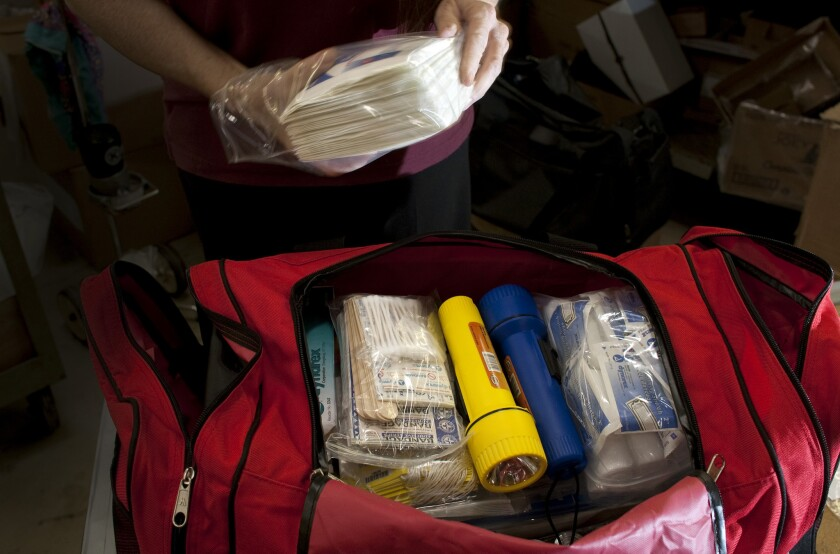 An emergency medical kit