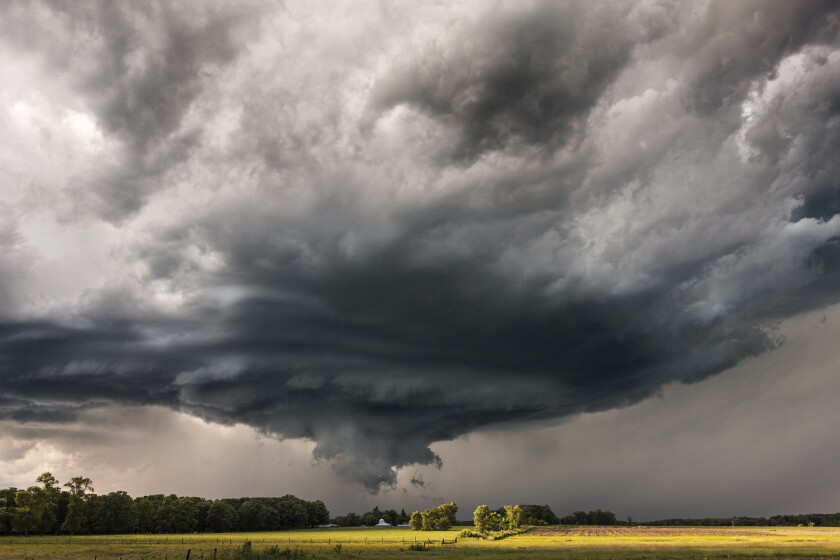 """Minnesota, June 2014: Photographer Camille Seaman's new book, """"The Big Cloud,"""" captures weather events in all of their beautiful and menacing glory."""