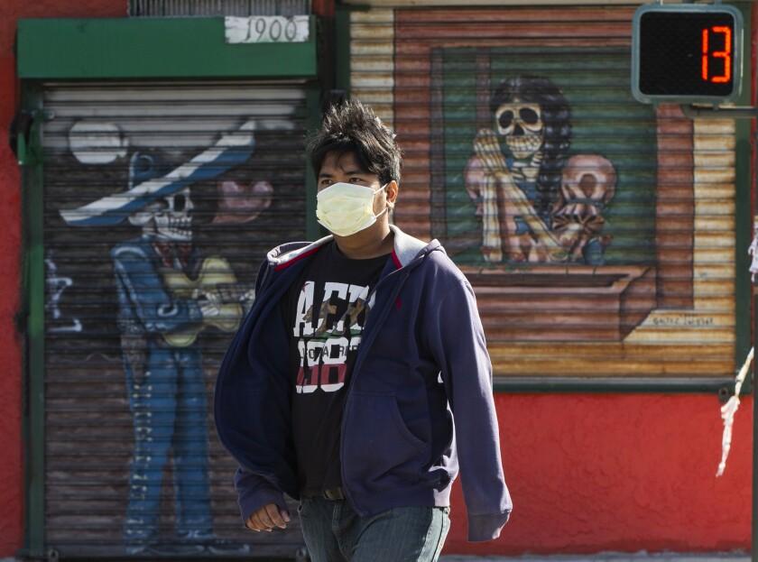 Virus Outbreak California
