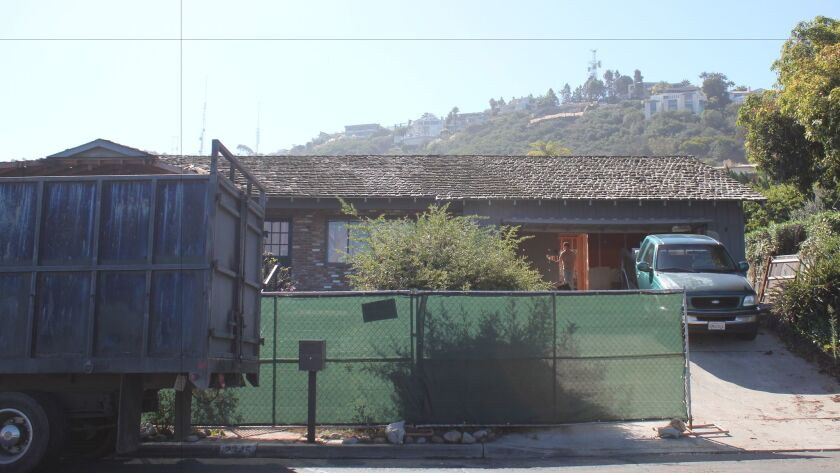 The applicant made a deal with City staff to preserve the Maria Goeppert-Mayer house at 2345 Via Siena as historic.