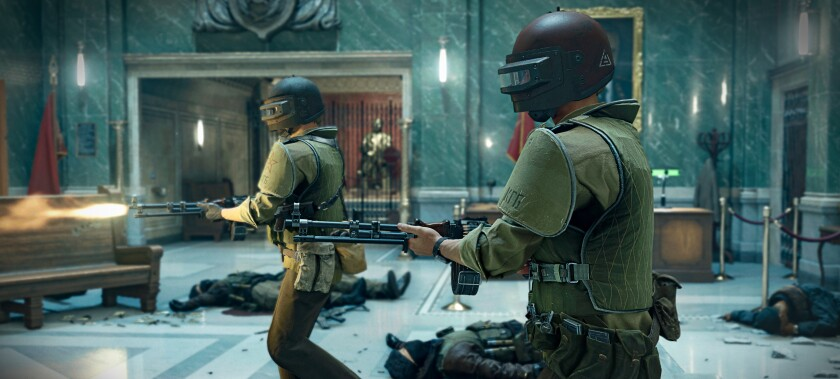 """American agents infiltrate — and decimate — a KGB facility in the latest """"Call of Duty."""""""