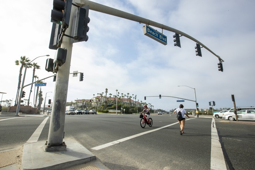 """A significant proposed change to Huntington Beach's Beach and Edinger Corridors Specific Plan would establish an """"affordable housing overlay"""" with nodes at seven sites citywide, predominantly along Beach Boulevard."""