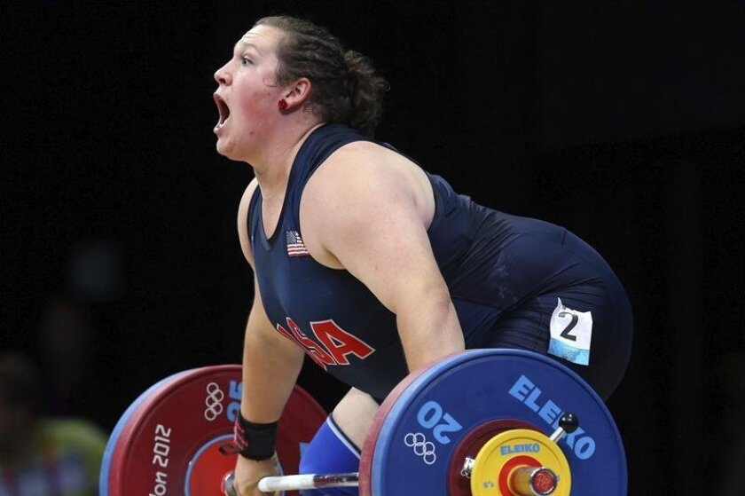 """Mexican-American weightlifter Sarah Robles wants to raise the U.S. flag on high over the 2016 Rio de Janeiro Olympic Games, but at the same time would love to """"inspire young Latino athletes."""" EFE/File"""