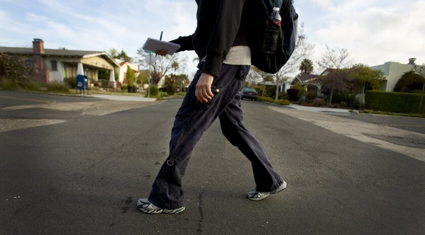 Karla Peterson's test of National Walk to Work Day starts with a stroll through North Park.