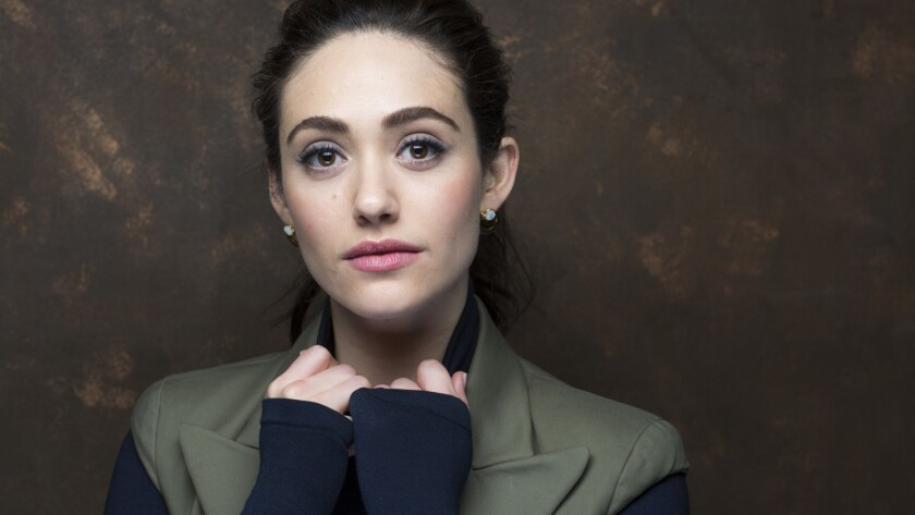 """PARK CITY,UTAH --MONDAY, JANUARY 22, 2018-- Actress Emmy Rossum, from the film, """"A Futile and Stupid"""