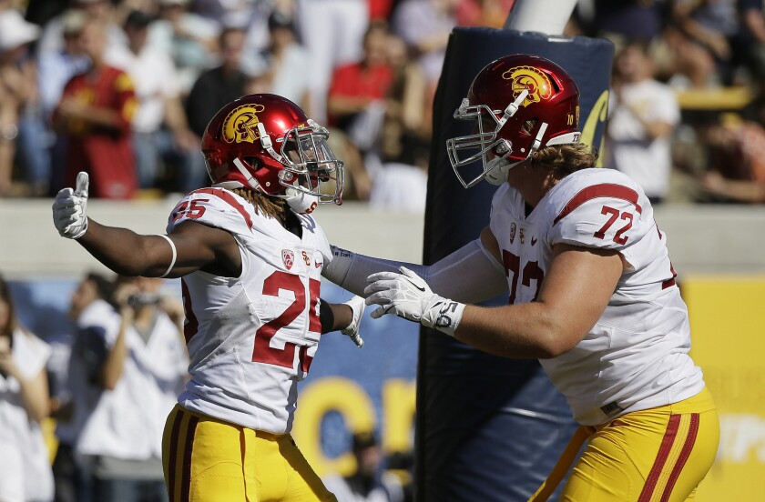 USC gets physical in 27-21 victory over California