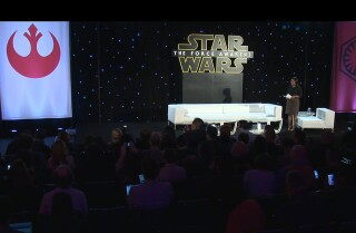 'Star Wars: The Force Awakens' - Part 2, video 1