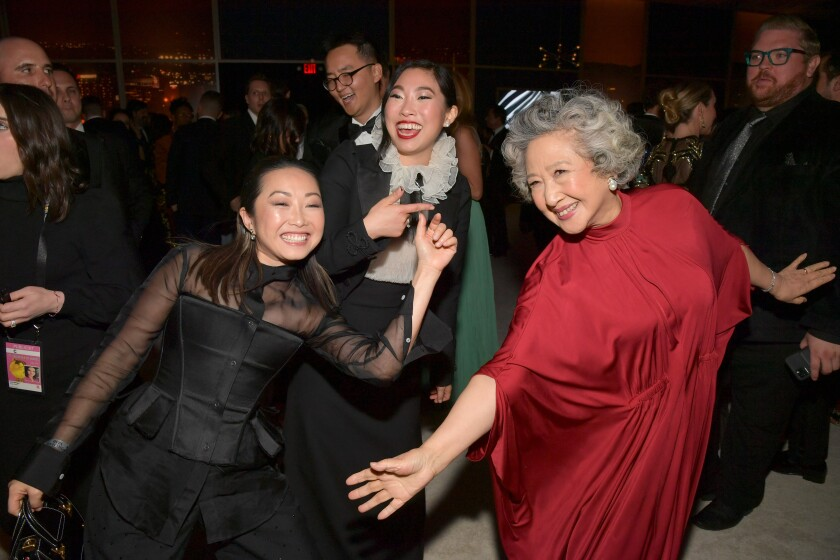 2020 InStyle And Warner Bros. 77th Golden Globe Awards Post-Party