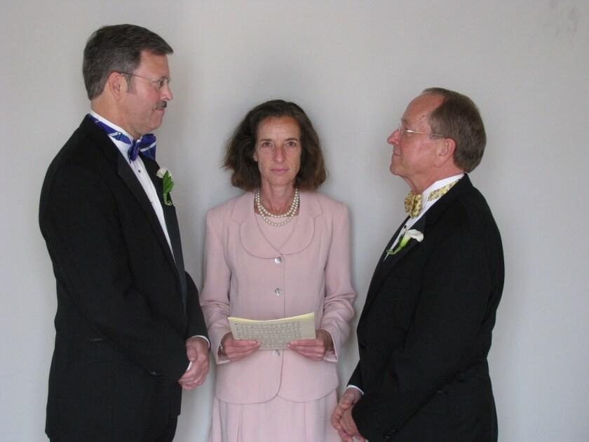 Mark Andrew, Bishop Gene Robinson