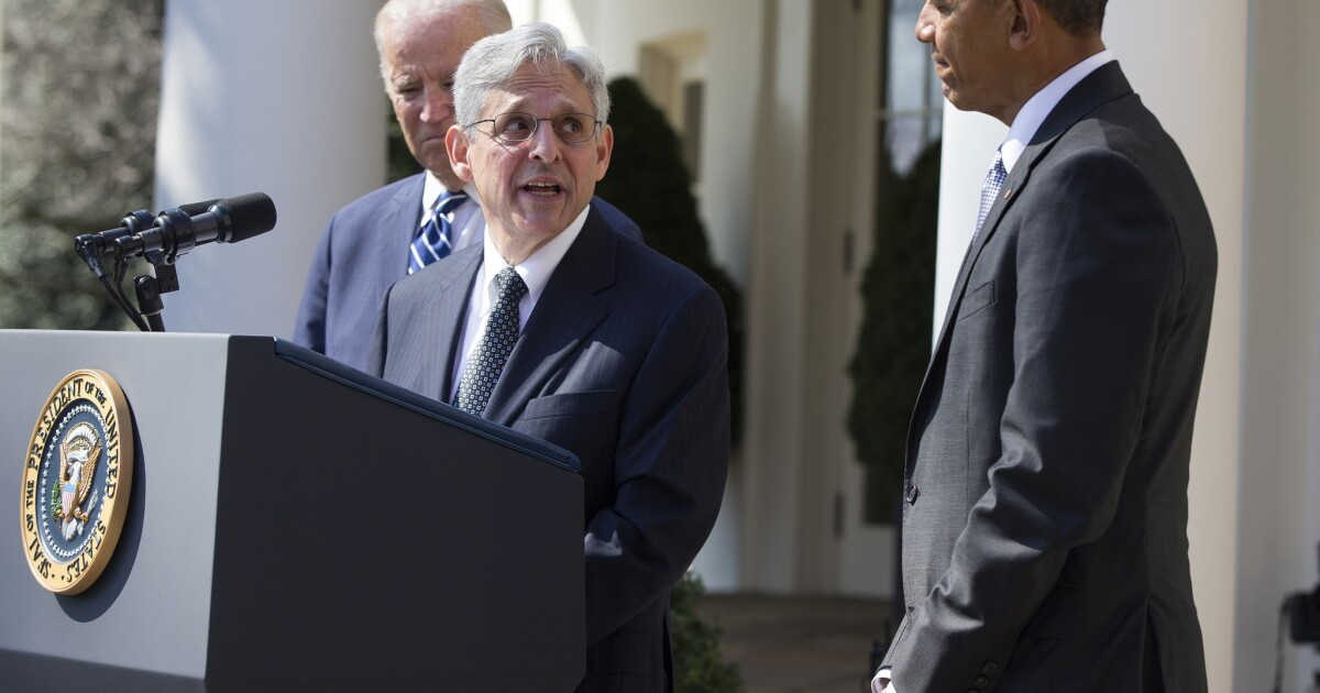 Editorial: Senate Republicans' refusal to consider Merrick Garland's Supreme Court nomination is dangerous obstructionism