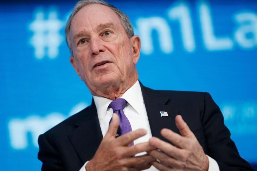 El empresario Michael Bloomberg, exalcalde republicano e independiente de Nueva York, confirmó hoy su regreso al Partido Demócrata. EFE/Archivo