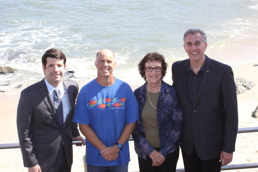 The five community pillars: Jeff Laumer, Dan Simonelli, Marilyn Seals, Russell King and (not pictured) Mike Strong.