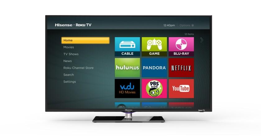 Internet streaming device-maker Roku unveils the Roku TV