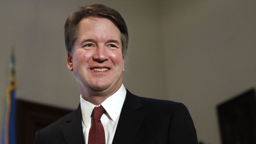 Justice Brett M. Kavanaugh wrote that Congress couldn't make an exception for robocalls used to collect debts.