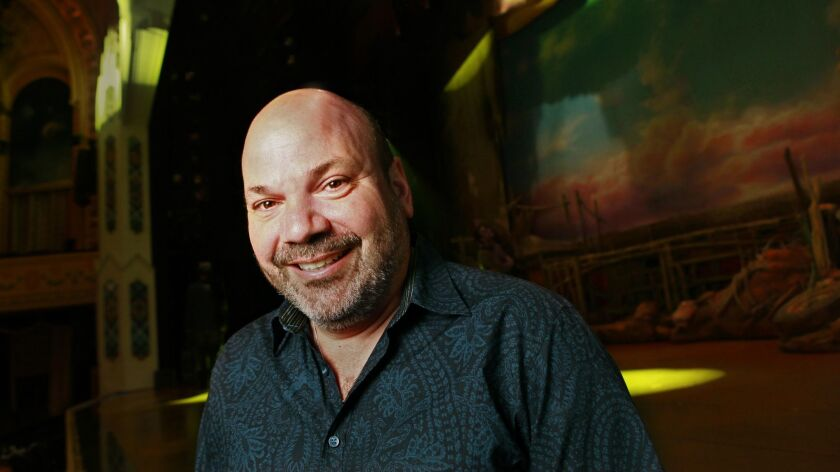 "Director Casey Nicholaw, who was raised in San Diego, has four shows running on Broadway, including ""Aladdin."""
