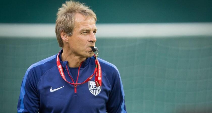 Jurgen Klinsmann, entrenador de Estados Unidos.