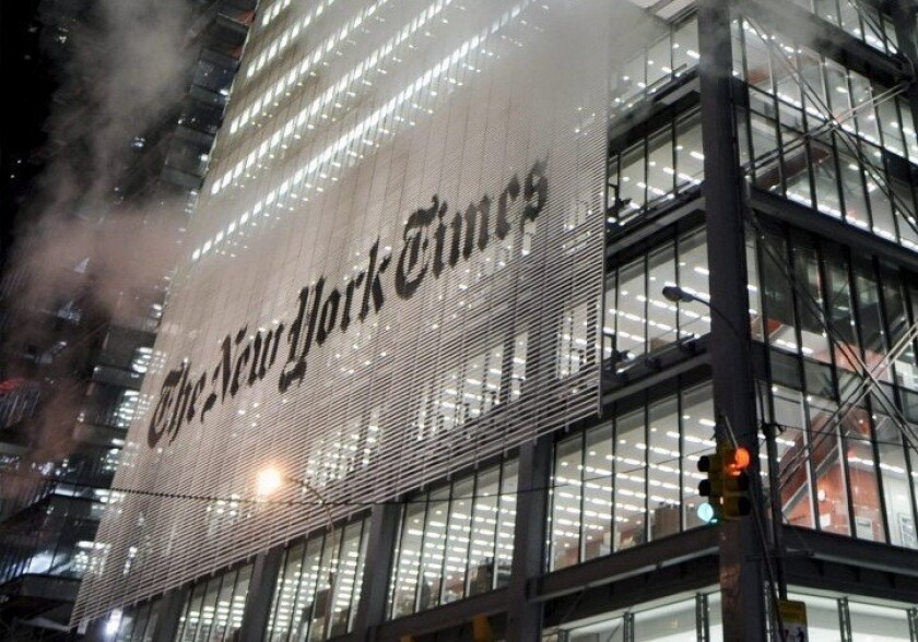 A bedbug infestation at the New York Times building prompted a college professor to tweet a joke about a conservative columnist at the paper.