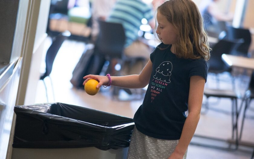 Food waste in school cafeterias studied has increased 56 percent since the passage of a USDA mandate requiring students to take a fruit or vegetable.
