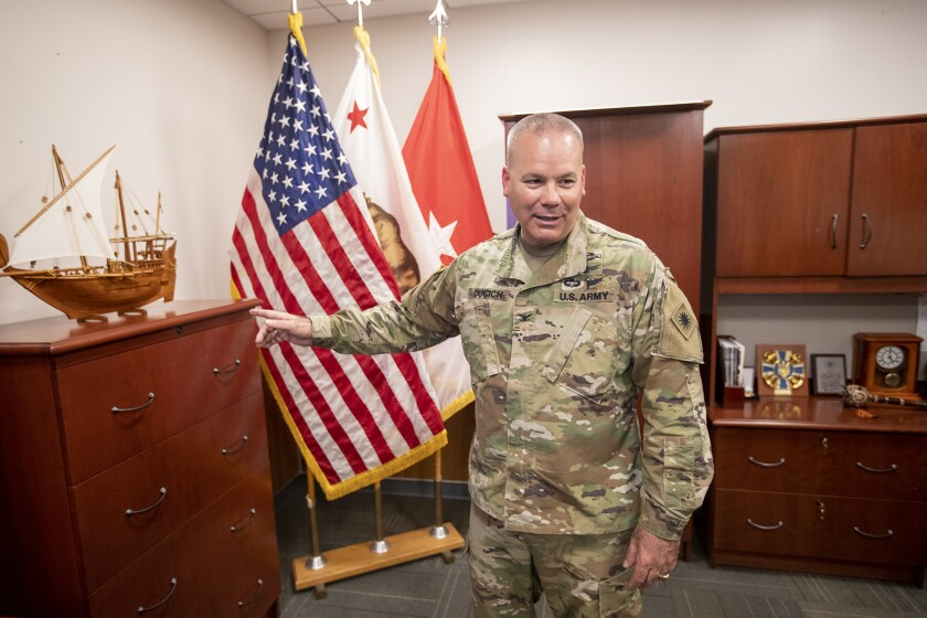 New Los Alamitos training base commander prepares for