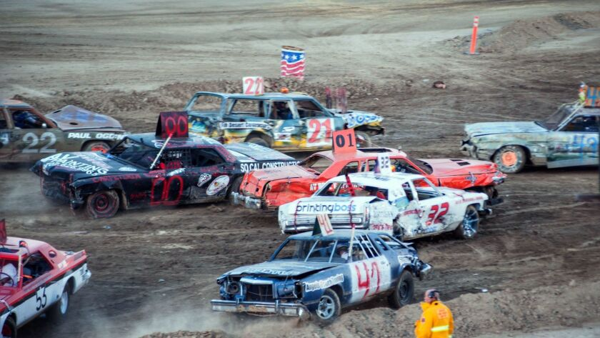 Demolition Derby at Lancaster's Antelope Valley Fair. Credit: Courtesy of the City of Lancaster