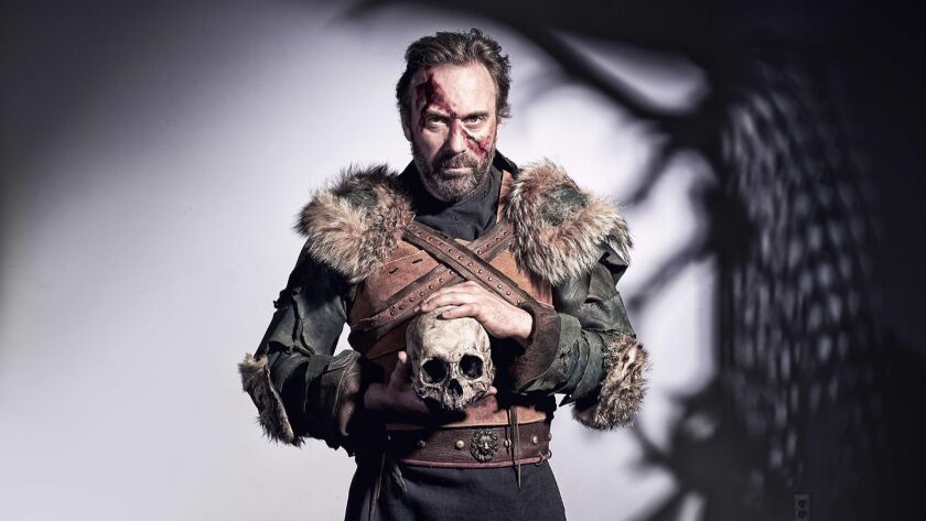 """David Melville stars in Independent Shakespeare Company's """"Titus Andronicus."""""""