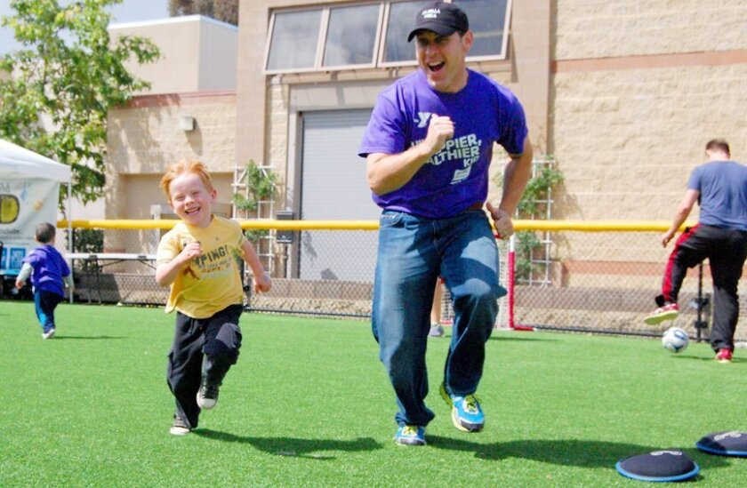 La Jolla YMCA will host a free community event from 10 a.m. to 1 p.m. Saturday, April 25, 2015 at 8355 Cliffridge Ave., to inspire kids to keep their minds and bodies active.