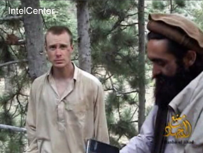 U.S. Army Sgt. Bowe Bergdahl is seen in an image provided by IntelCenter in 2010.