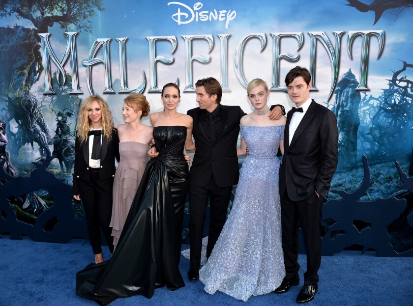 'Maleficent' red carpet