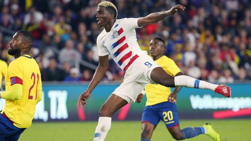 USA Soccer vs. Ecuador in Orlando