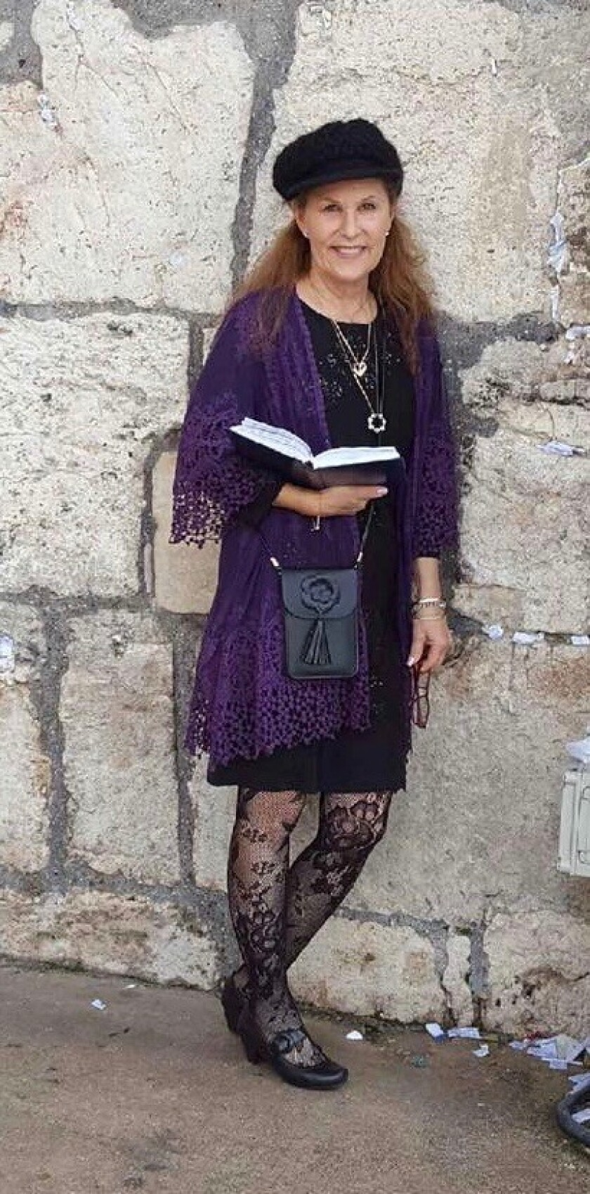 An undated photo of Lori Gilbert-Kaye taken during a trip to Israel. She died Saturday in a shooting at Chabad of Poway.