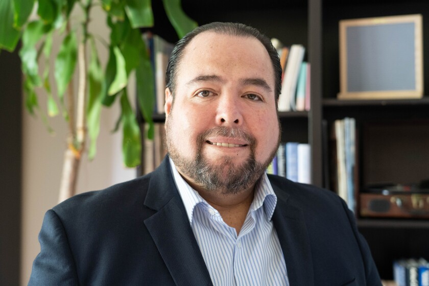Jose Angel Cruz is the new CEO of Barrio Logan College Institute.