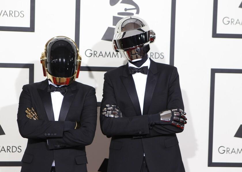 Daft Punk's album won a Grammy this year.