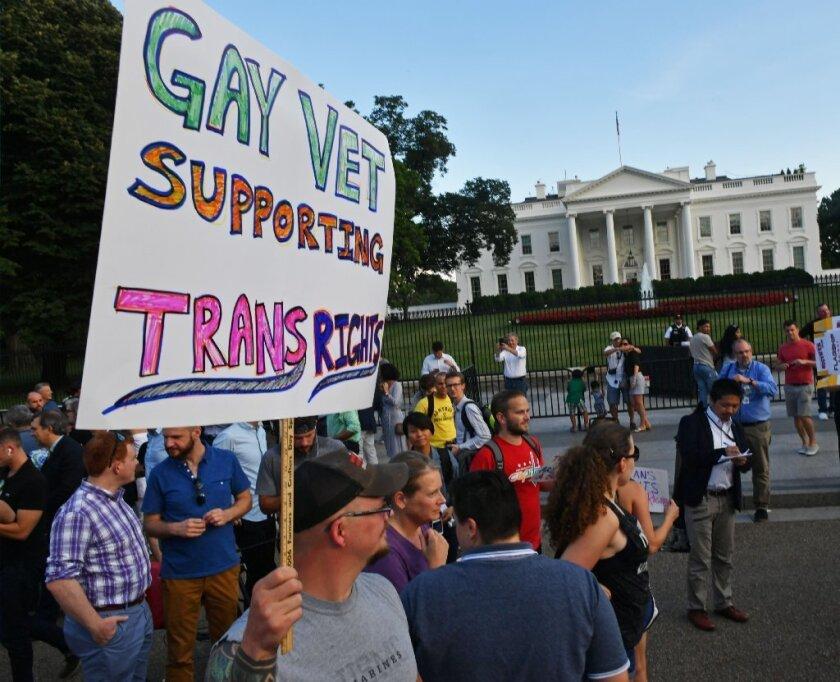 Transgender military ban guidelines